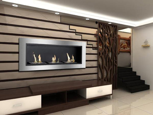 Indoor Wall Fireplace