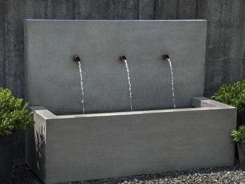 Large Outdoor Wall Fountain