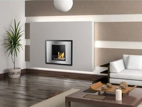Ignis Vienna Recessed Wall Ethanol Fireplace