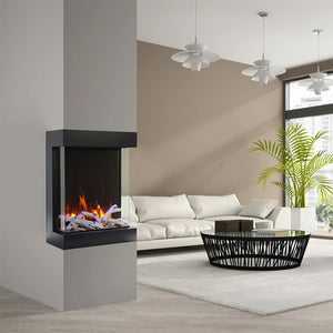 3 Sided Electric Fireplace Insert