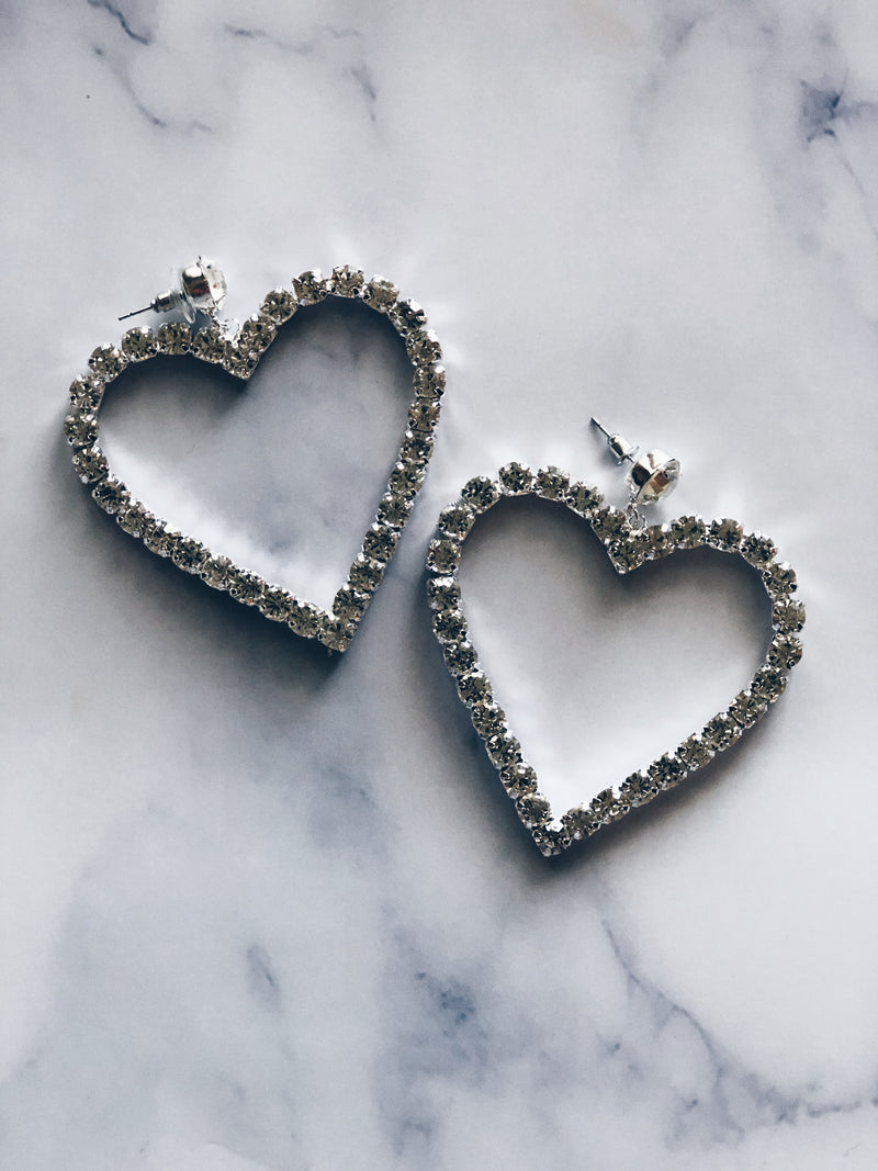 Heartthrob Crystal Earrings