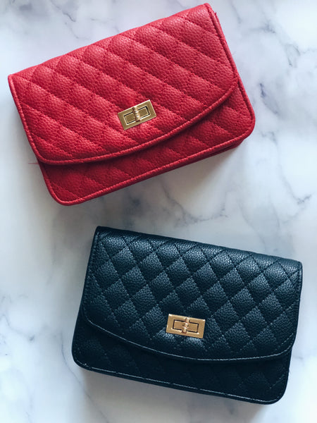 Luxe Quilted Mini Bag