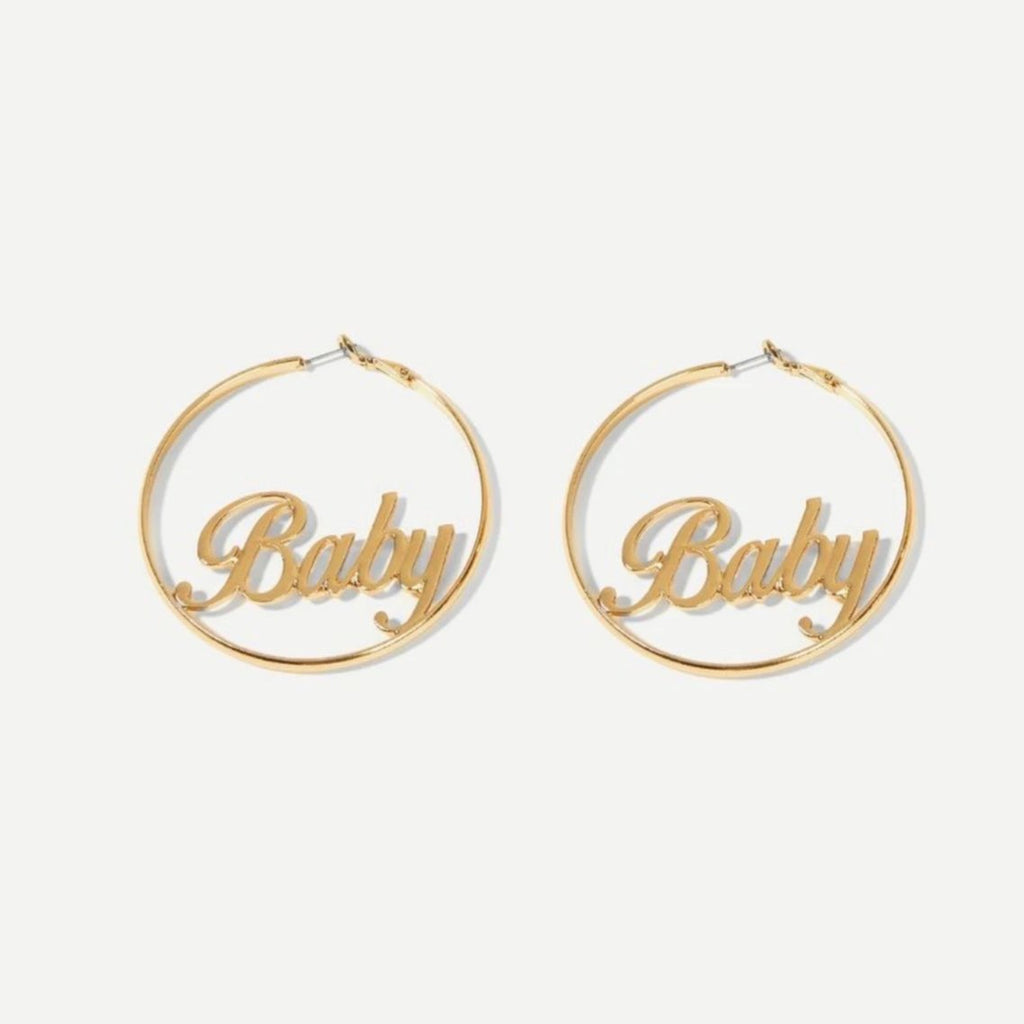 Baby Gold Hoop Earrings