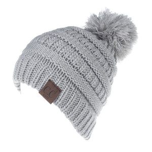 Kids Toddler Knit Beanie - Gray