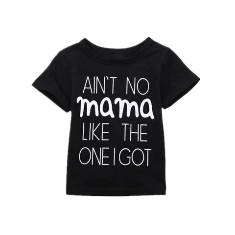 Ain't No Mama Black Casual T-Shirt