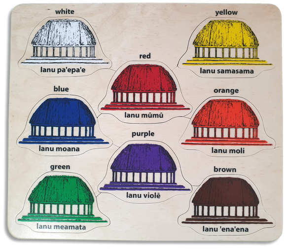 Colour Names in Samoan/English