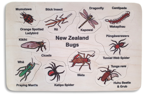 NZ Bugs Puzzle
