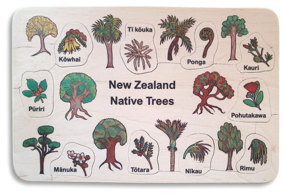 NZ Native Trees Puzzle