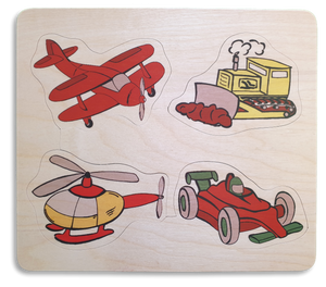 Wheels and Wings Puzzle