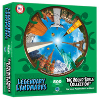 Legendary Landmark Rnd Table Puzzle