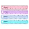 (36 Ea) Plastic Ruler 6 In