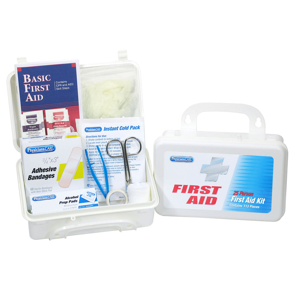 PHYSICIANSCARE 25 PERSON FIRST AID
