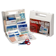 10 Person Sports First Aid Kit Plastic Case