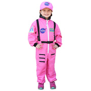 Nasa Astronaut Pink Jumpsuit Sz 6-8 Get Real Gear Dress Up For Kids
