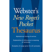 Websters New Rogets Thesaurus Pocket Edition