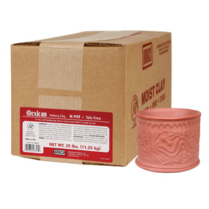 MEXICAN POTTERY CLAY 25LB.