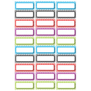 (3 Pk) Die Cut Magnets Assorted Color Chevron Nameplates