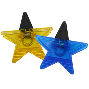 MAGNET CLIPS ASSORTED BLUE/GOLD