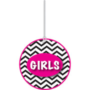 Chevron Girls Hall Pass