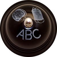 DECORATIVE CALL BELL ABC CHALKBOARD