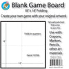 (3 Ea) Blank Game Board