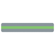 (24 Pk) Reading Guide Strips Light Green