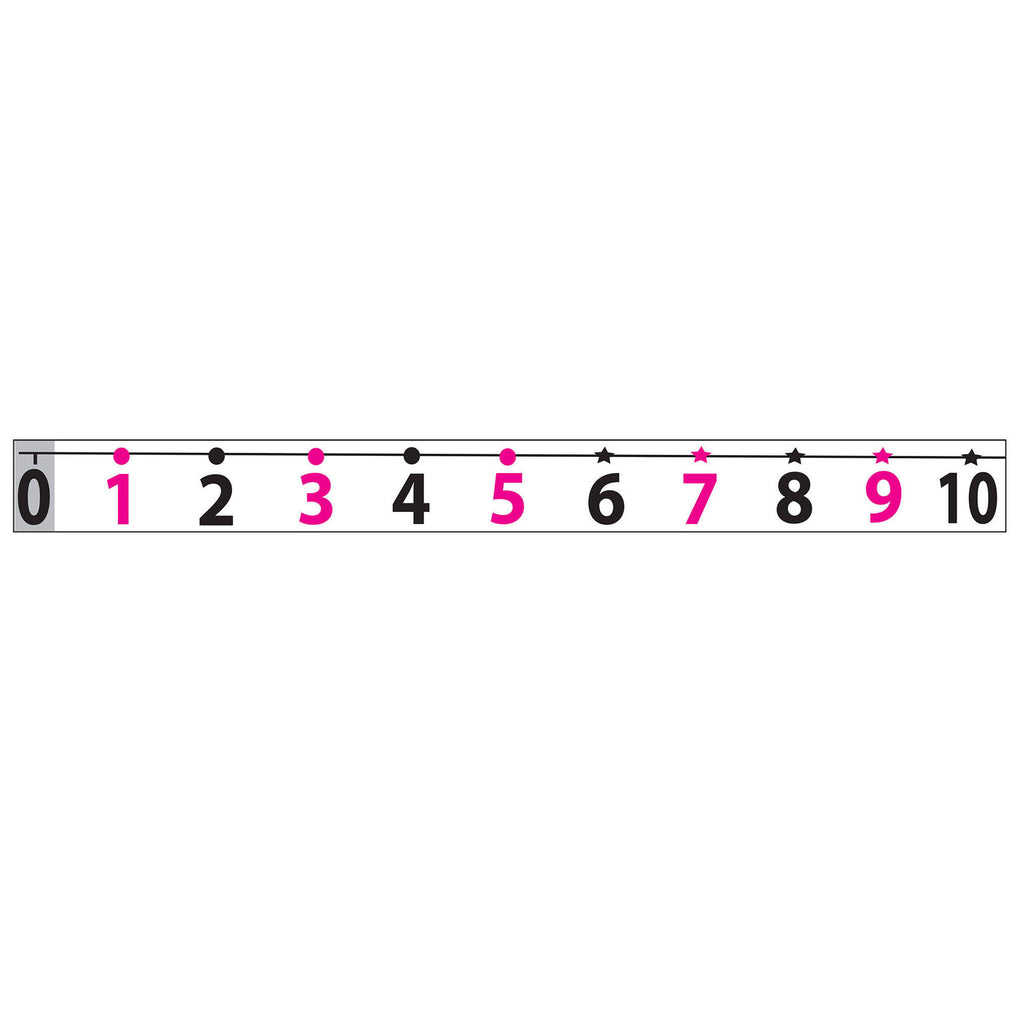 MATH DIE CUT MAGNETS NUMBER LINE 20
