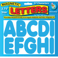 BLUE 2-3/4IN MAGNETIC LETTERS