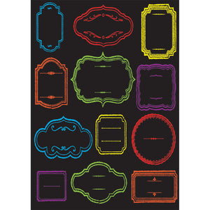 DIE-CUT MAGNETS CHALKBOARD CLASS