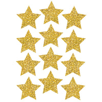 DIE CUT MAGNETS 3IN GOLD SPARKLE