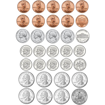 Money Foam Manipulatives Us Coins