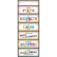 Clip Chart French Positive Behavior Dry-erase Surface