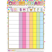 Chores Confetti Style Postermt Pals Smart Poly Single Sided