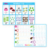 7 Pk Early Education Learning Mats Smart Poly