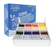 Washable Markers Jumbo 200ct 8 Colors Class Pk