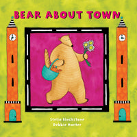 (3 Ea) Bear About Town Board Book - Student Spotlight