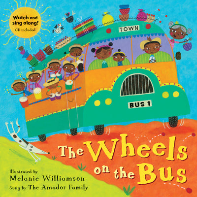 (3 Ea) The Wheels On The Bus