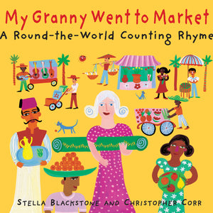 (3 Ea) My Granny Went To Market A Round The-world Counting Rhyme