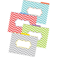 LETTER SIZE FILE FOLDERS CHEVRON