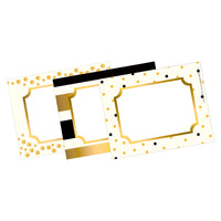 Gold Name Tags Self-adhesive Labels