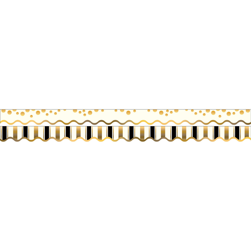 GOLD COINS BORDER DOUBLE-SIDED