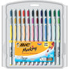 Bic Marking Permanent Markers 36pk Ultra Fine Point Asstd Color