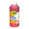 WASHABLE FINGERPAINT 16OZ RED