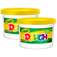 (2 Ea) Modeling Dough 3lb Bucket Yellow