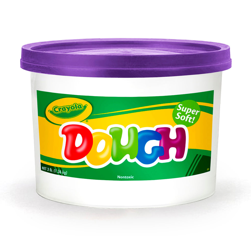 Modeling Dough 3lb Bucket Purple