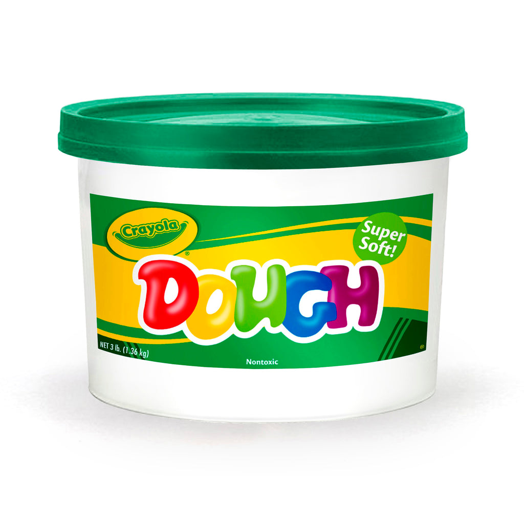 MODELING DOUGH 3LB BUCKET GREEN