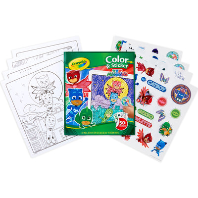Crayola Color & Sticker Pj Masks