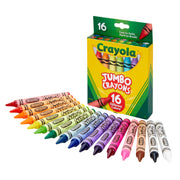 Crayola Jumbo Crayons 16 Color Set