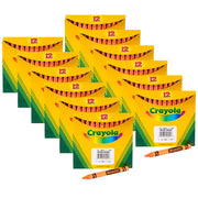 (12 Bx) Crayola Bulk Crayons 12ct Per Bx Orange