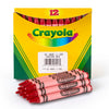 CRAYOLA BULK CRAYONS 12 COUNT RED